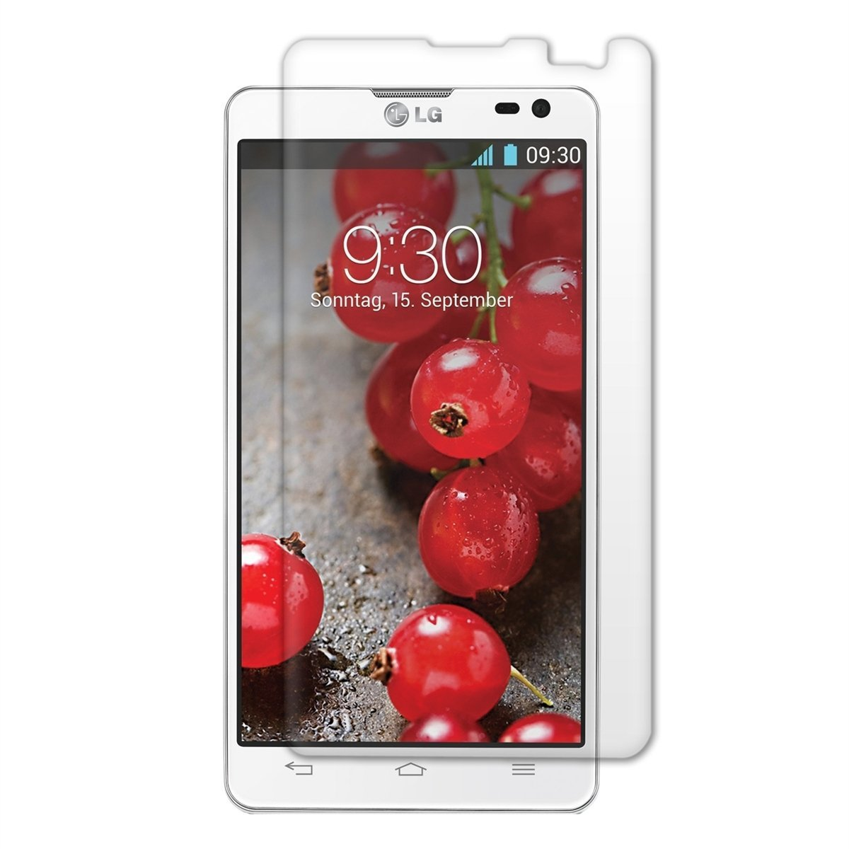 LG Optimus L9 II D605 Displayskydd (Spegel)