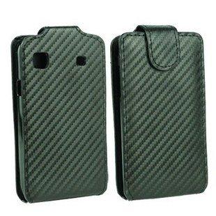 Carbon Fodral (Svart) Samsung Galaxy S i9000