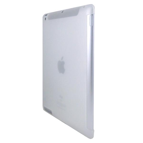 Smart Cut Transparent – Soft (Vit) iPad 3 Skal / iPad 4 Skal