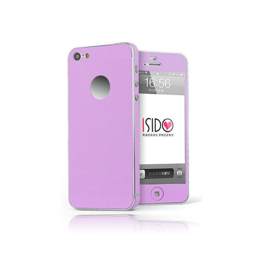 Full Color (Lila) iPhone 5 Skal (Heltäckande)