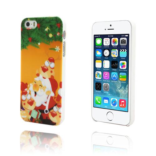 Christmas (Orange) iPhone 5/5S Skal