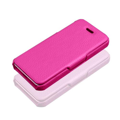 Prestige (Lila) iPhone 5/5S Genuint Läderfodral