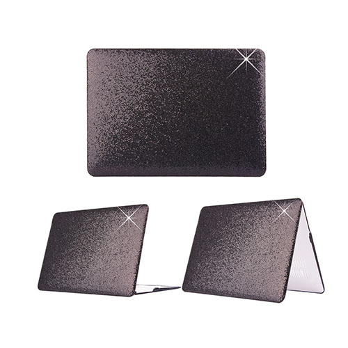 Glitter Macbook Air 13.3 Fodral – Svarta Paljetter