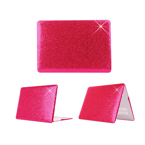 Glitter Paljetter Macbook Air 13.3 Fodral – Rosa Paljetter