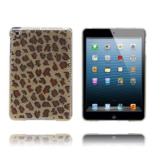 Diamond Bling (Leopard) iPad Mini Skal med Rhinestones
