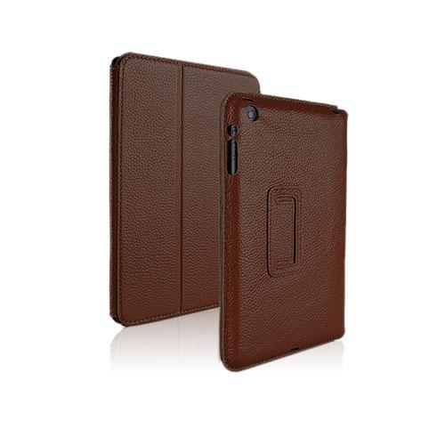 Biz Skal (Brun) iPad Mini Genuint Läderfodral