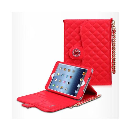 Takefans Rhombus (Röd) iPad Mini Fodral