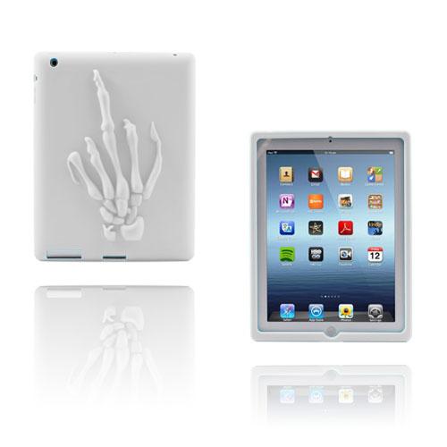 Ghost (Vit) iPad 4 Skal