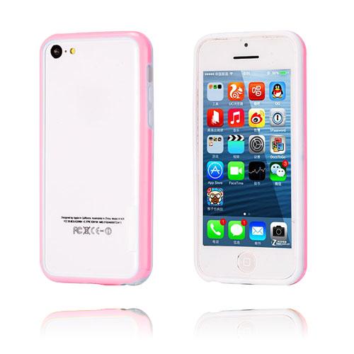 iBumper (Rosa/Vit) iPhone 5C Bumper