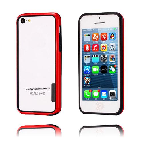 iBumper (Röd/Svart) iPhone 5C Bumper