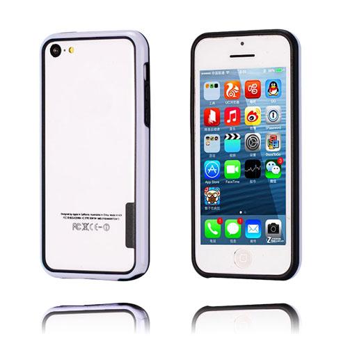 iBumper (Vit/Svart) iPhone 5C Bumper