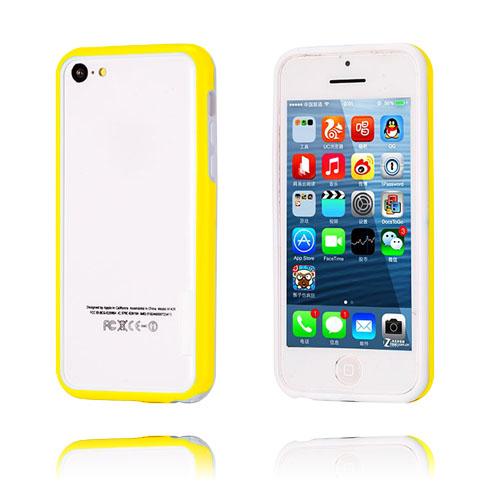 iBumper (Gul/Vit) iPhone 5C Bumper