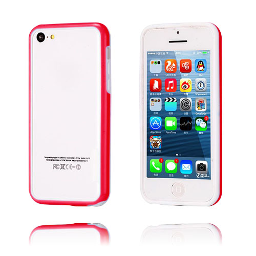 iBumper (Röd/Vit) iPhone 5C Bumper