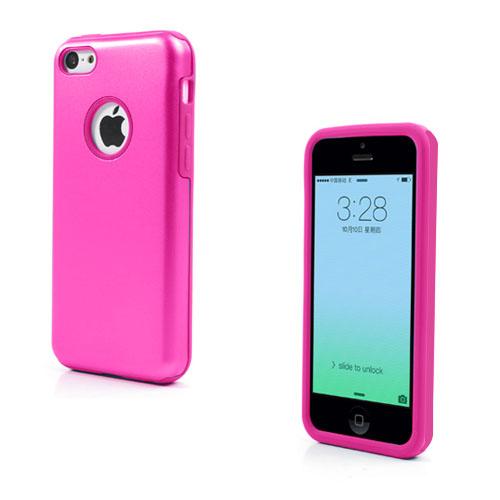 Alu Guard (Knallrosa) iPhone 5C Aluminum Skal