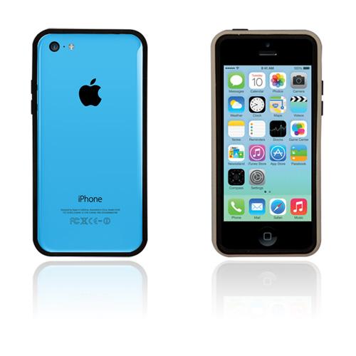 White Edge (Svart) iPhone 5C Bumper