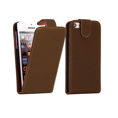 Lincoln (Mörkbrun) iPhone 5C Läderfodral