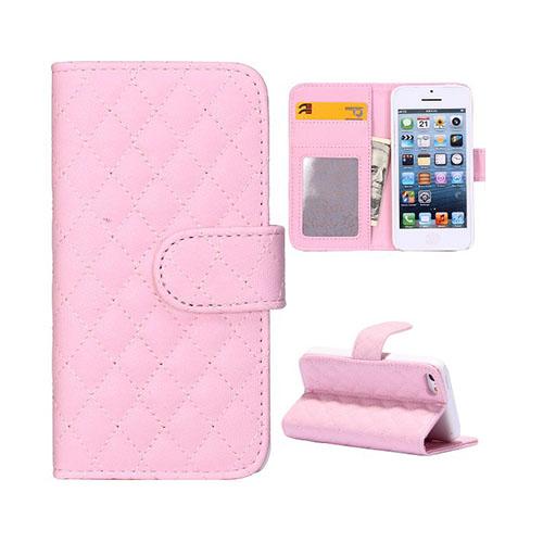Diamond (Rosa) iPhone 5C Läderfodral