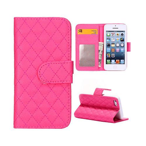 Diamond (Het Rosa) iPhone 5C Läderfodral