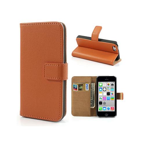 Alexander (Orange) iPhone 5C Äkta Läderfodral
