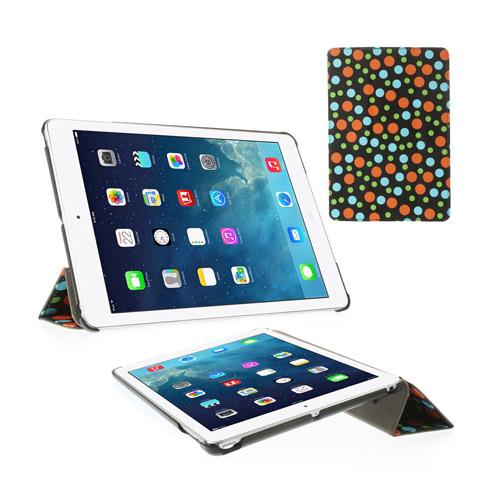 Colors (Svart) iPad Air Läderfodral