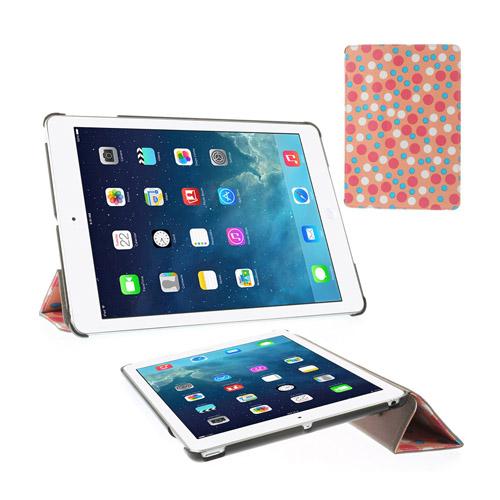 Colors (Rosa) iPad Air Läderfodral