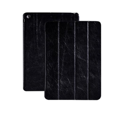 HOCO (Svart) iPad Air Genuint Läderfodral
