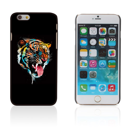 Persson (Färgglad Tiger) iPhone 6 Skal