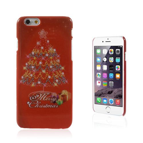 Christmas (Röd Julgran) iPhone 6 Skal