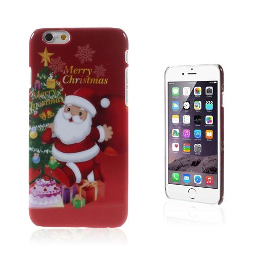 Christmas (Tomte & Julgran) iPhone 6 Skal