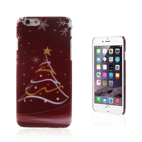 Christmas (Julgran & Stjärna) iPhone 6 Skal