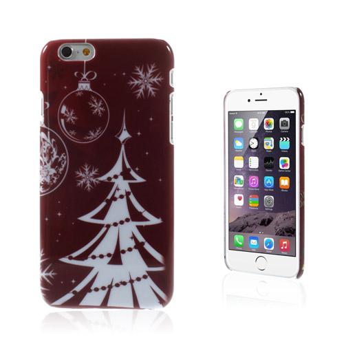 Christmas (Julgran & Snöflinga) iPhone 6 Skal