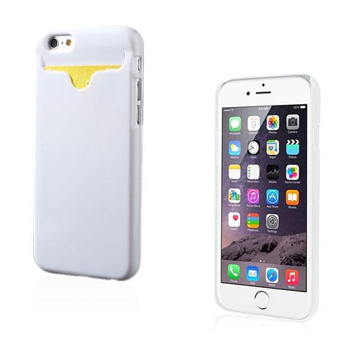Waltari (Vit) iPhone 6 Korthållare Skal