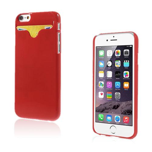Waltari (Röd) iPhone 6 Korthållare Skal