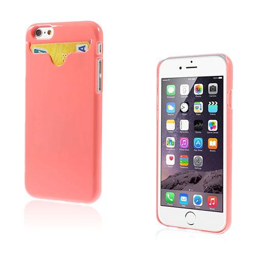 Waltari (Rosa) iPhone 6 Korthållare Skal