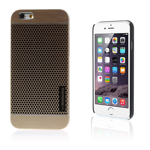 Motomo (Polka Prickar – Guld) iPhone 6 Skal