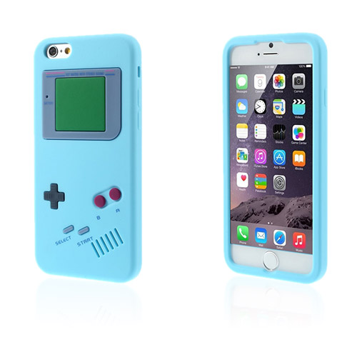 GameBoy (Ljus Blå) iPhone 6 Skal