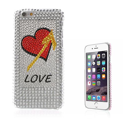 Bling (Love Hjärta) iPhone 6 Skal