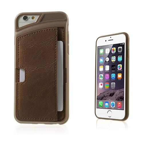 Valeur (Brun) iPhone 6 Skal / Plånbok