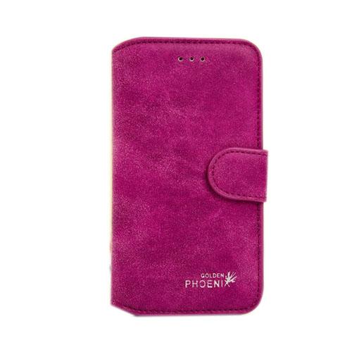 Image of   Phoenix (Ljuslila) iPhone 6 Fodral (Äkta Läder)