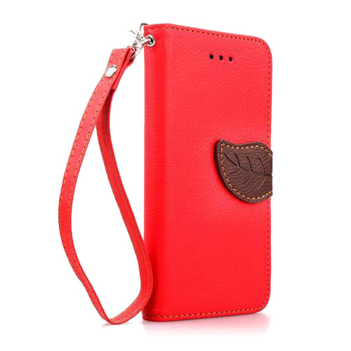 Theori (Röd) iPhone 6 Flip-Fodral