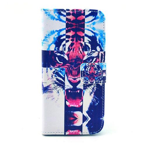 Moberg (Färgade Tiger) iPhone 6 Flip-Fodral