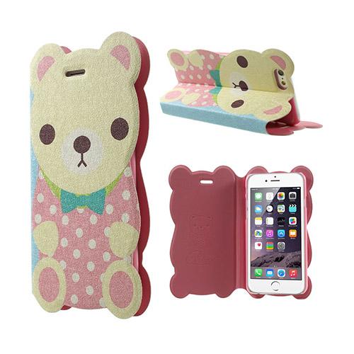 Kakusiga (Björn – Rosa) iPhone 6 Fodral