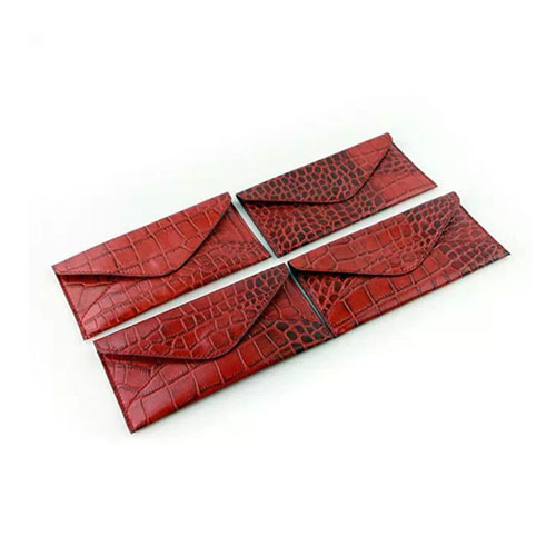 J.M.Show Äkta Krokodil Läderfodral för iPhone 6s – Röd
