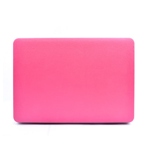 Ancker Leather Macbook Pro 15 Inch Retina Display Skal – Varm Rosa