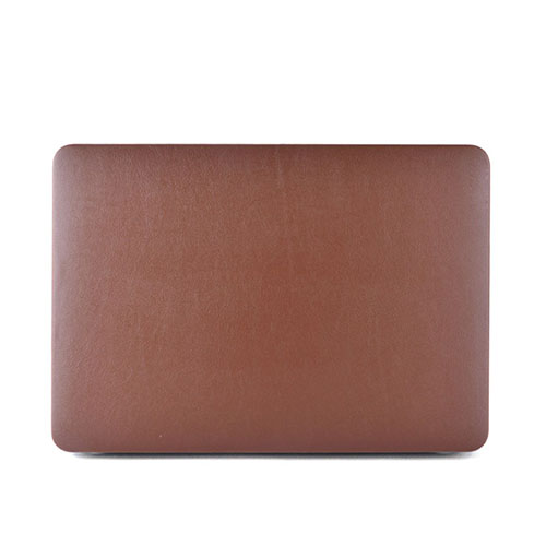 Ancker Leather Macbook Pro 15 Inch Retina Display Skal – Brun