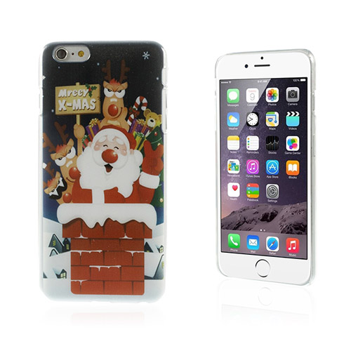 Funny Christmas (Tomten Åker) iPhone 6 Plus Skal