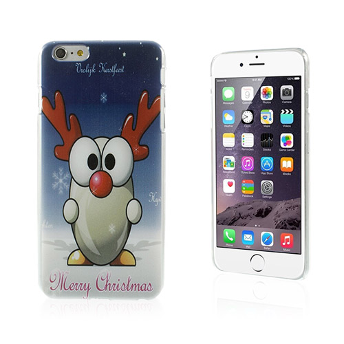 Funny Christmas (Glad Ren) iPhone 6 Plus Skal