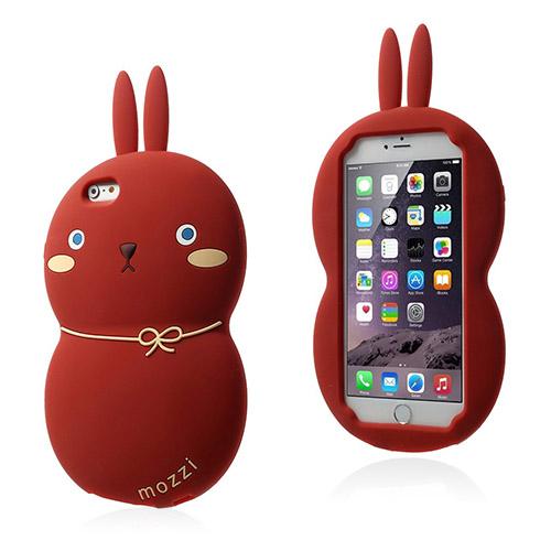 Fat Rabbit (Röd) iPhone 6 Plus Skal