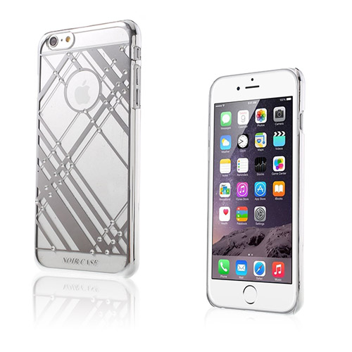 Rhinestone (Grå) iPhone 6 Plus Skal