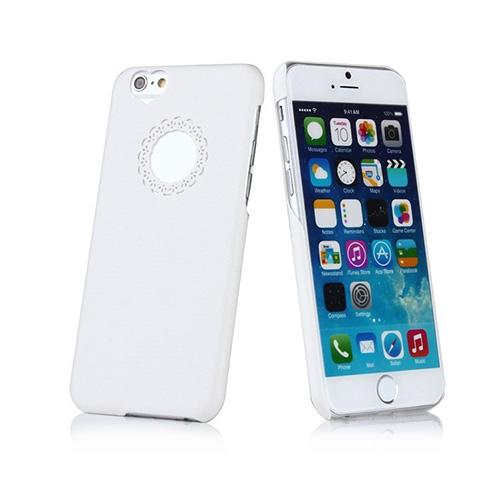 Hoel (Vit) iPhone 6 Plus Skal